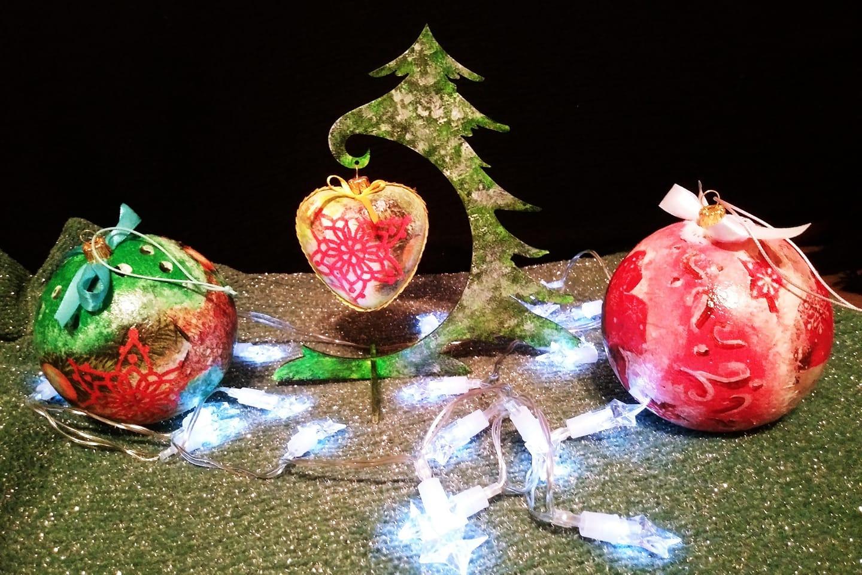 Ozdoby świąteczne – warsztaty